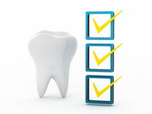 Dental checklist
