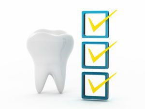 Dental checklist