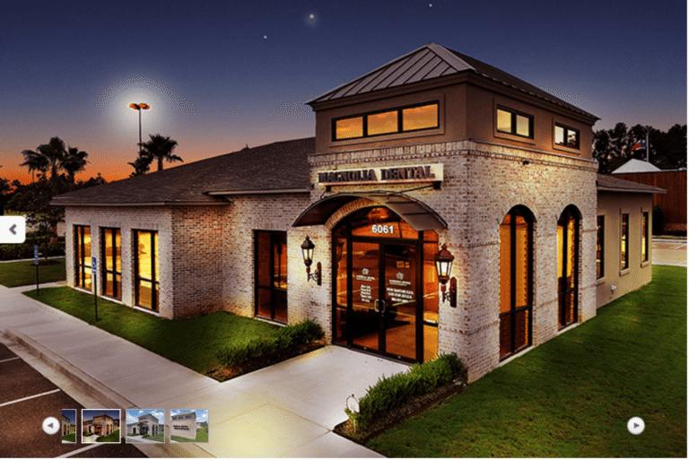 Magnolia Dental Covington office from outside